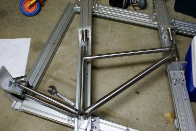 bike frame jig