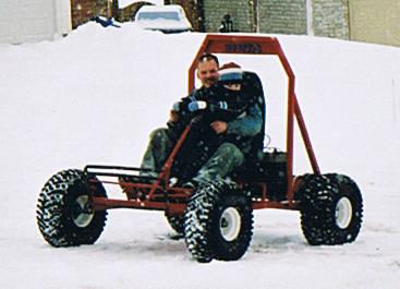 Home Built Go Kart