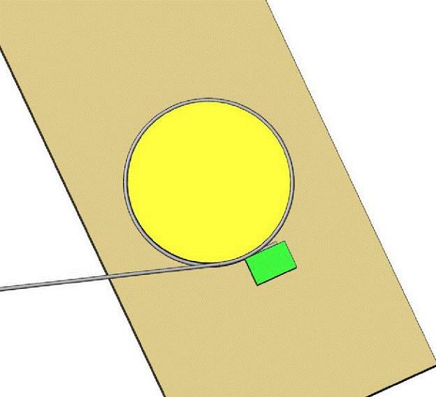 bending into circle