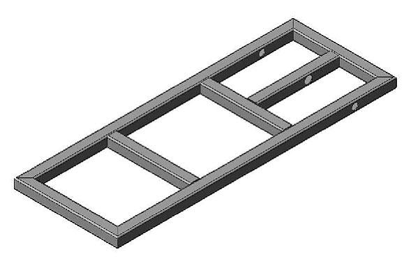 welding cart frame bottom