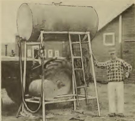 fuel barrel stand