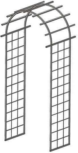 curved arbor