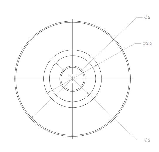 tubing bender guiding wheel