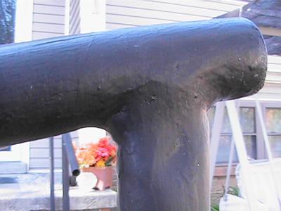 Hand Rails Close-Up