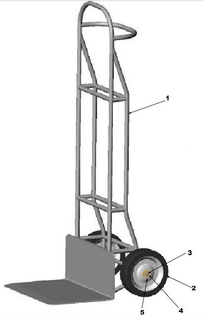 hand truck assembly