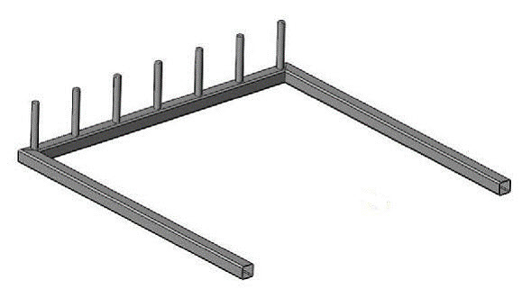 rack joints welded