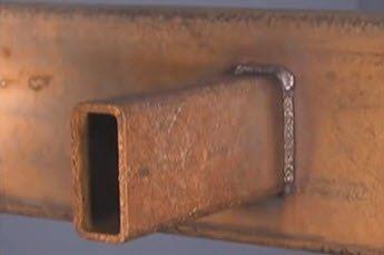 welding rusty metal
