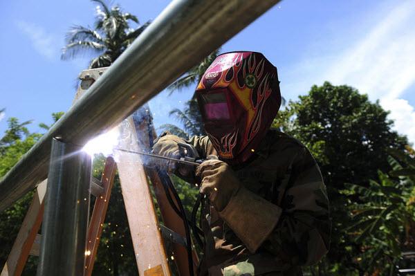 field pipe welding