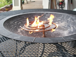 fire pit test