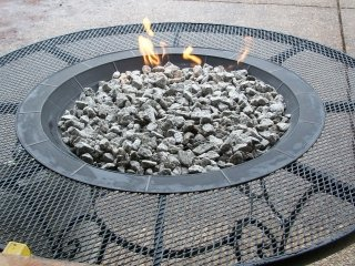 propane gas fire table