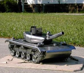 tank metalworking project