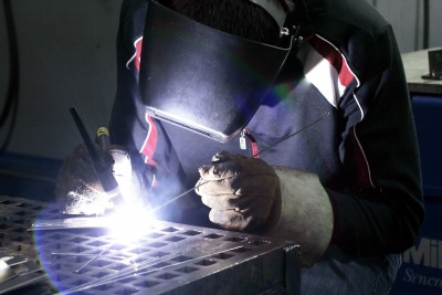 tig welding plate