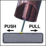 push pull welding technique
