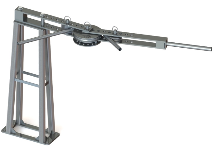 tubing bender stand