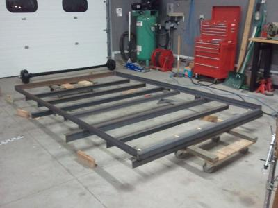 starting the trailer build