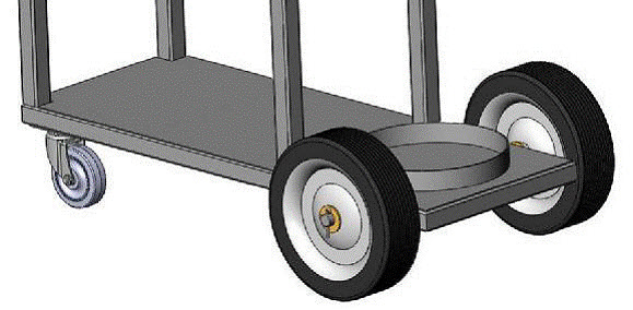 welding cart wheels
